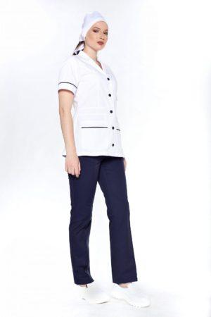 Костюм горничной, классический вариант (блуза, брюки)