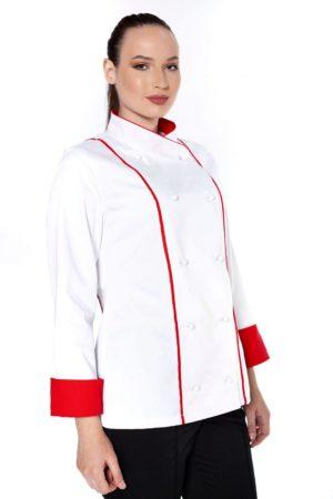 Китель повара, женский с отделкой МВО