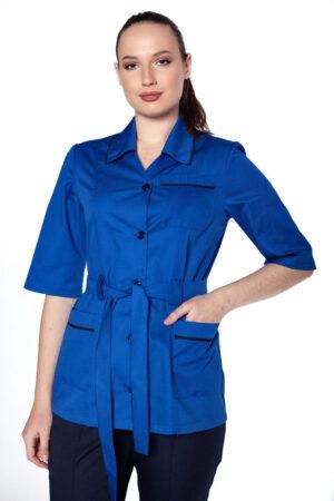 Блуза уборщицы с поясом